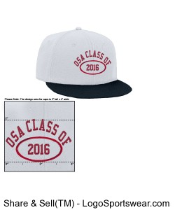 OSA Sophomores Class of 2016 white Snapback Design Zoom